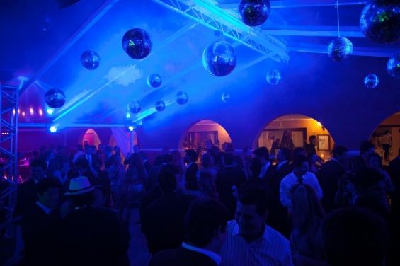 Pista de dança Haras Morena - Azul