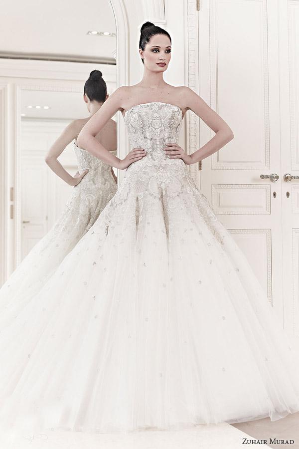 Wedding dresses inspirations zuhair murad 2014 espa o for Zuhair murad 2014 wedding dresses